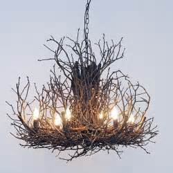 Twig Chandeliers Twig Chandelier 6 Light Small Chandeliers By Shades