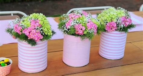 How To Decorate Your Home For Cheap 20 tin can craft ideas flower vases and plant pots