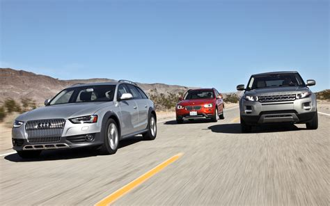 land rover bmw 2013 audi allroad vs 2013 bmw x1 vs 2012 land rover