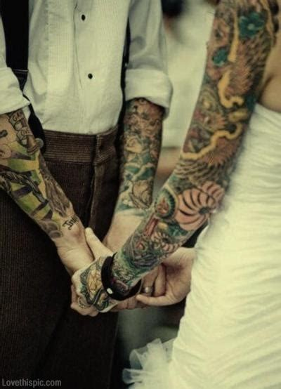 tattoo couple love tattoo wedding couple pictures photos and images for