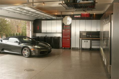 garage interior ideas cool garage ideas make your garage