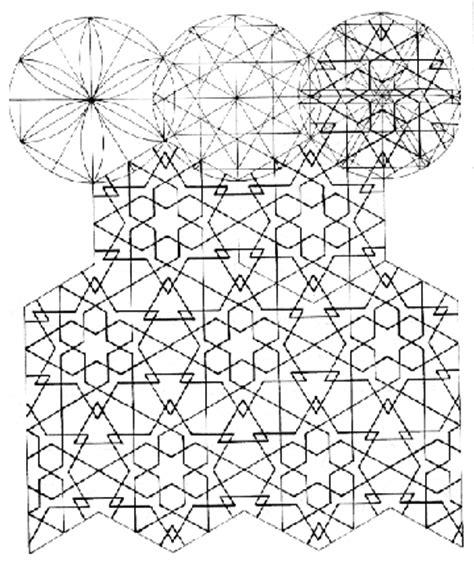 islamic pattern concept el said and parman quot geometric concepts in islamic art quot p