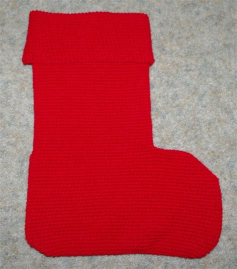 crochet pattern for large christmas stocking big christmas stocking crochet pattern free crochet