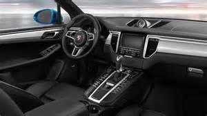 Porsche Macan Inside 2016 Porsche Macan S Infotainment And Interior The News