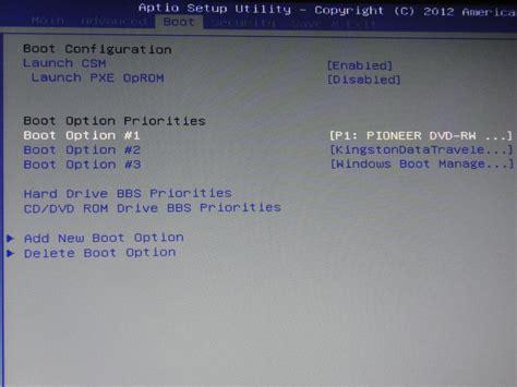 Laptop Asus Boot Menu asus uefi boot from cd dvd x55u