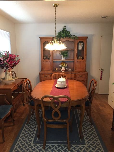 thomasville dining room set  antique furniture collection