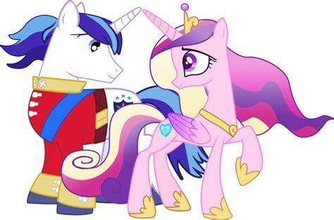 my little pony princess cadence shining armor shining armor and princess cadence by serginh on deviantart