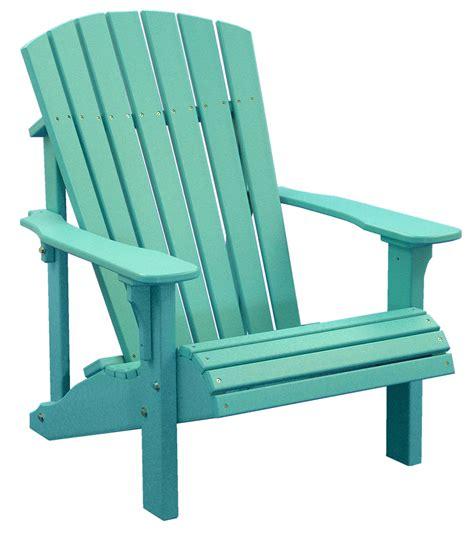 Backyard Creations Deluxe Adirondack Chair K Poly Deluxe Adirondack Chair Herron S Amish Furniture