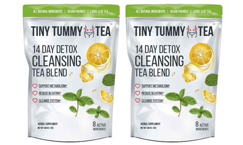 Tiny Tea Detox by Tiny Tummy Cleansing Tea Blend Livingsocial Shop