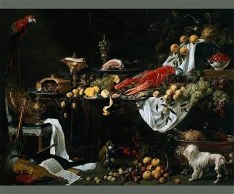 Wedding At Cana Deeper Meaning by Oysters And Oranges Still Painting In The