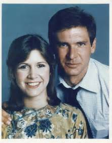 Harrison Ford Carrie Fisher Carrie Fisher Harrison Ford Tv Cinema
