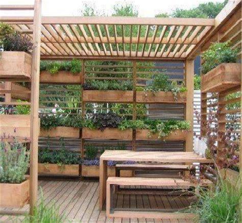 Pergola Planter by This Vertical Garden Pergola Gardens