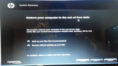 reseter mg2570 win7 windows 7 factory reset how to restore any windows 7 to
