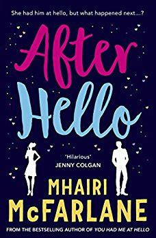 Book Review By Price by Book Review After Hello By Mhairi Mcfarlane This Price