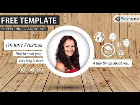 prezi resume template the best prezi cv resume template free