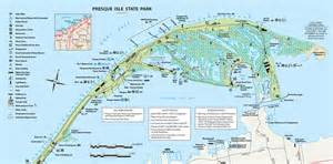 Presque Isle State Park Map by The National Aviary