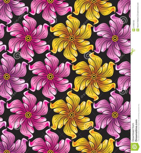 flower pattern textile seamless flower background for textile designs stock