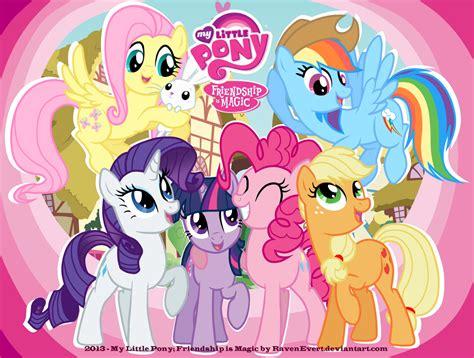 my pony wallpaper my pony by ravenevert on deviantart