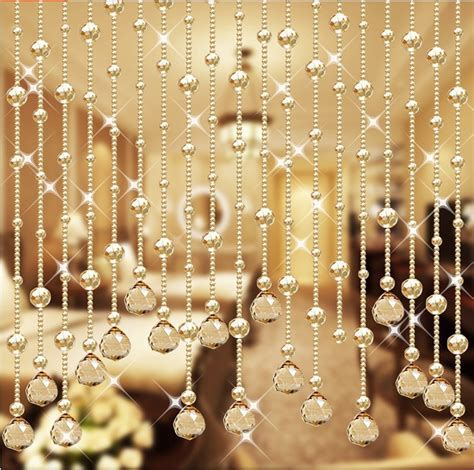 home decor hanging beads wedding party home decorations arylic crystal beads rope