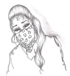 gangster girl by miszfortune on deviantart