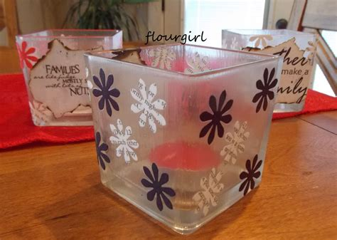 Tissue Paper Decoupage On Glass - decoupage votives 187 flourgirl