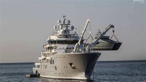 jacht ulysses 107m superyacht ulysses her 8 tenders new nauta air