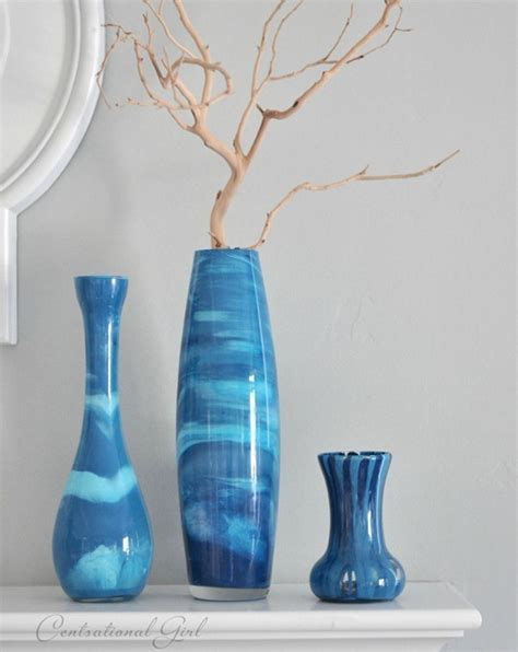 Spray Paint Glass Vases Craftionary