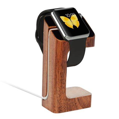 Apple Charging Dock Stand Iwatch apple stand aerb iwatch wood charging stand bracket