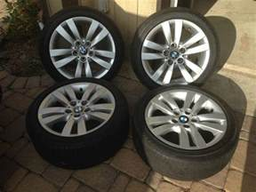 buy bmw oem stock rims 17in 3 series with run flat tires