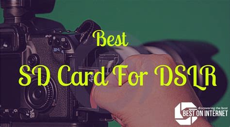 Memory Card Dslr best sd card for dslr of 2016 2017