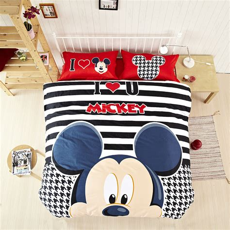 black and white mickey mouse comforter high quality black and white striped sets kids comforters