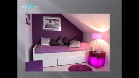 decoration chambre fille ado d 233 co chambre d ado fille violette