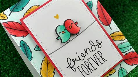 how to make a bff card how to make a friendship card