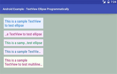 android textview layout height programmatically android how to ellipse textview programmatically