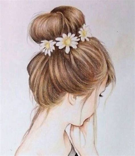 bun hairstyles drawing 74 best images about drawings on pinterest drawing hair