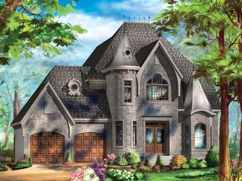 european houses 072h 0240 european house plan looks like a castle