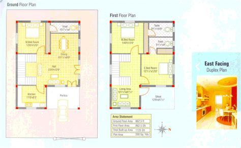 luxury duplex house plans kerala latest home plan at 1725 sq ft