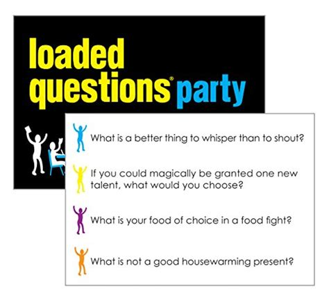 LOADED QUESTIONS PARTY  An Epic Party Game of Fun