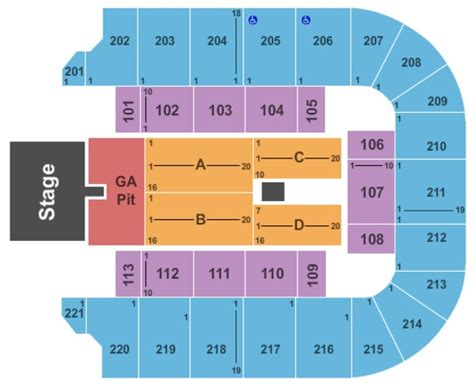 bancorpsouth arena seating capacity bancorpsouth arena tickets in tupelo mississippi