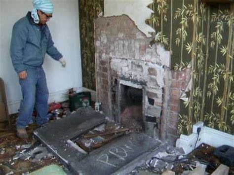 removing fireplace 1