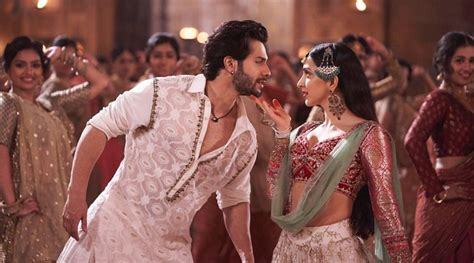 kalank song first class varun dhawan takes to the streets