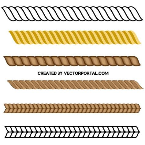 svg rope pattern ropes vector pack download at vectorportal