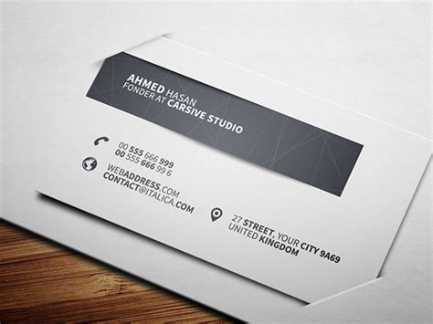 behance business card template creative business card template on behance