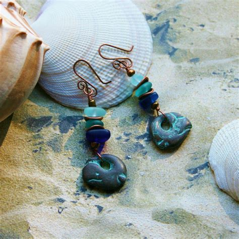 7 Cutest Earrings by Cutest Whale Earrings Green Patina And By