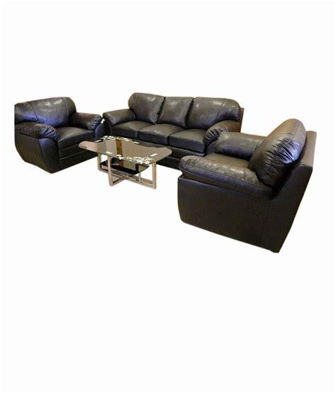irony sofa set irony black sofa set 3 1 1 buy online at best price in