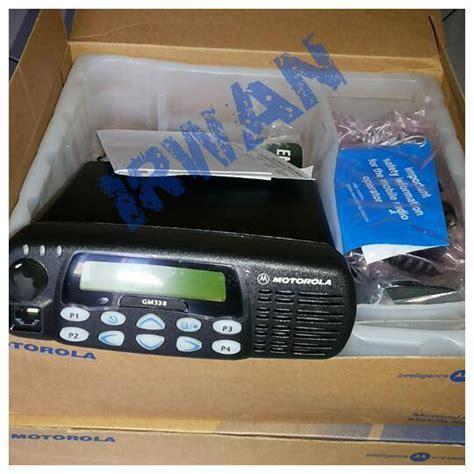 Rig Motorola Xir M3688 Vhf 45 Watt motorola gm 338 vhf 45 watt swaradio