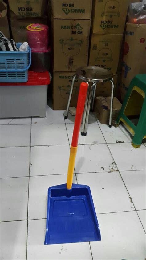 jual serok sekrop sampah tangkai pengki gagang plastik