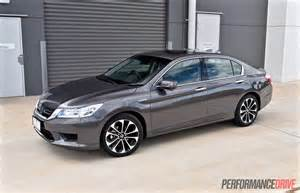 Honda Accord V6 Sport Honda Accord Sport Hybrid Review Performancedrive
