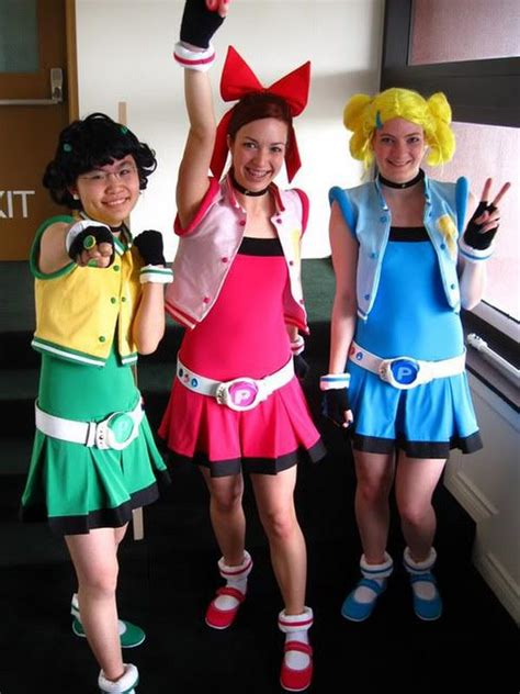 Decorating Fall - 10 power puff girls group costume ideas hative