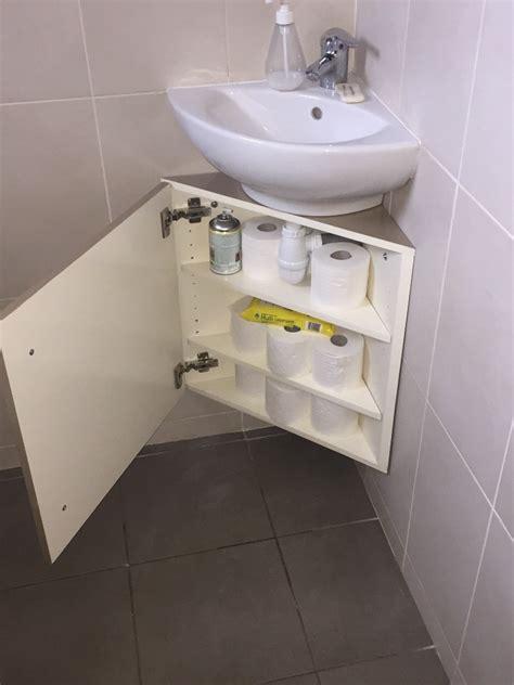 petit meuble sous vasque 4292 meuble sous vasque d angle par tacoule38 sur l air du bois